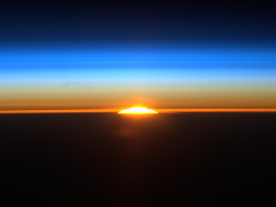 Sunrise from Space, Credit: NASA Image of the Day Gallery